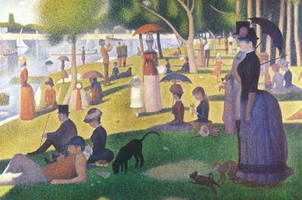 George's Seurat Sunday Afternoon on la Grande Jatte 1884
