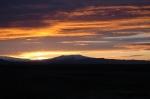 Eyjafjallajokull Volcano Sunset