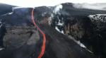 Eyjafjallajokull Volcano beautiful? lava stream
