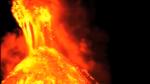Eyjafjallajokull Volcano (burning lava)