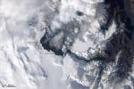 Eyjafjallajokull Volcano (satellite image)