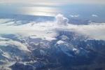 Eyjafjallajokull Volcano far away