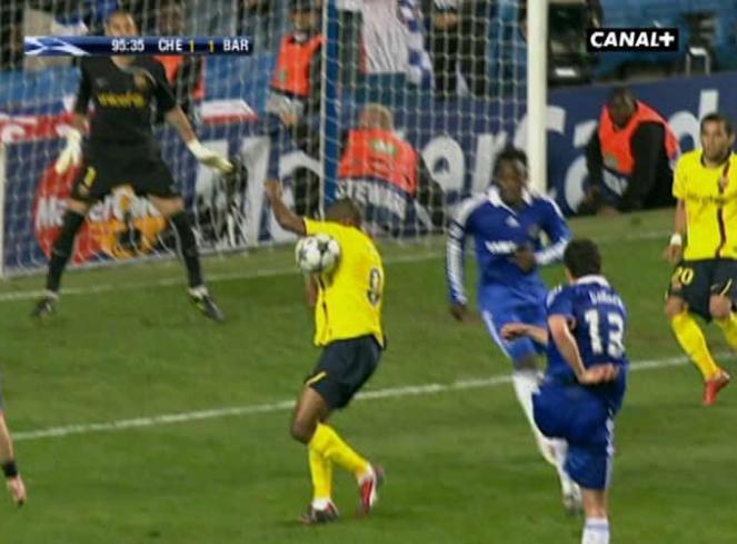Robo Descarado en la Champions League Cup (UEFA) – Chelsea vs ...