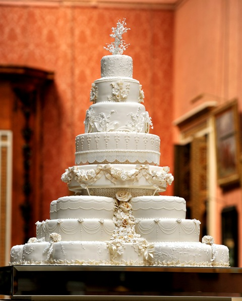 Gran pastel de bodas .... para pobres, si?