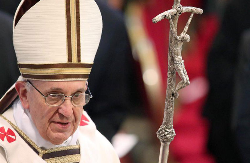 El mero jerarca de la nueva Iglesia Católica