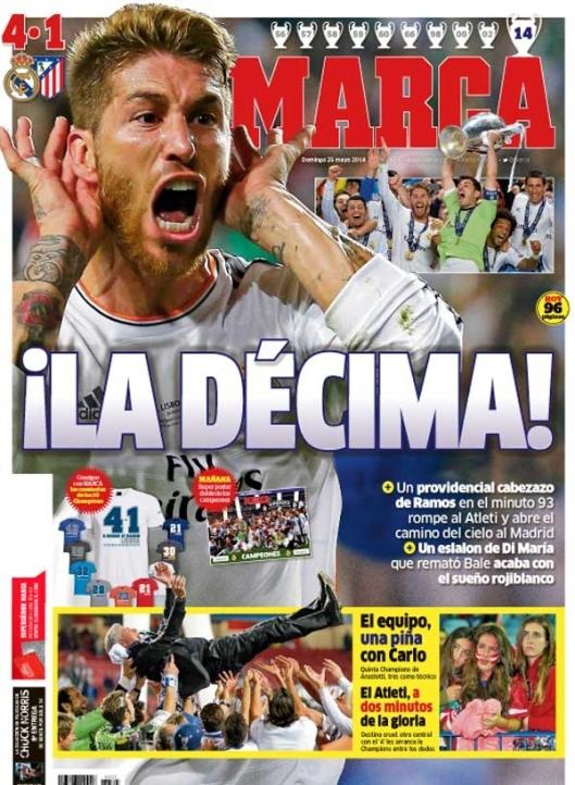 Sergio Ramos Decima Marca